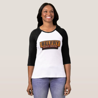 Belfry Music Theatre - Womens Baseball T-Shirt