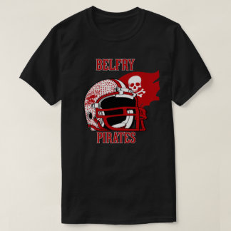 BELFRY PIRATES KENTUCKY  FOOTBALL T-Shirt