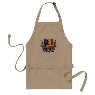 Belgian-American Shield Flag Standard Apron