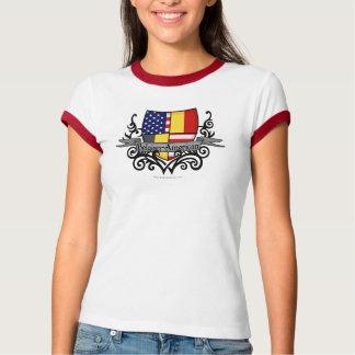 Belgian-American Shield Flag T-Shirt