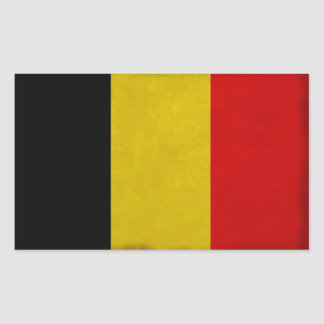 Belgian Belgium flag Sticker
