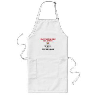 Belgian Chefs Long Apron