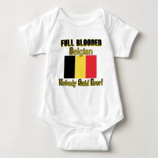 Belgian citizen design baby bodysuit