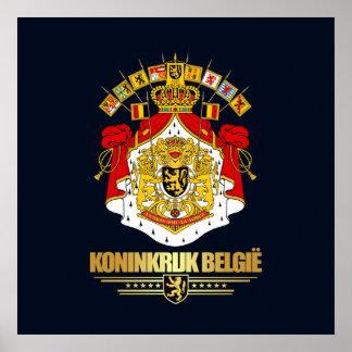 Belgian Coat of Arms 2 Poster