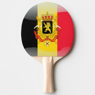 Belgian Coat of arms Ping-Pong Paddle