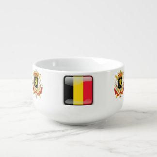 Belgian Coat of arms Soup Mug