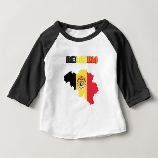 Belgian country flag baby T-Shirt
