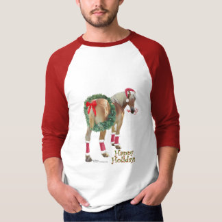 Belgian Draft Horse Christmas Shirt