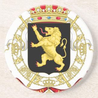 Belgian Emblem - Coat of Arms of Belgium Coaster