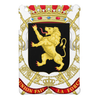 Belgian Emblem - Coat of Arms of Belgium Cover For The iPad Mini