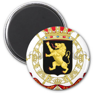 Belgian Emblem - Coat of Arms of Belgium Magnet