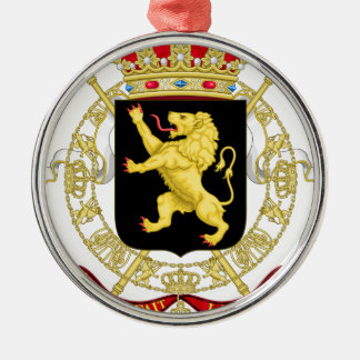 Belgian Emblem - Coat of Arms of Belgium Metal Ornament