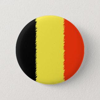 Belgian Flag 2 Inch Round Button