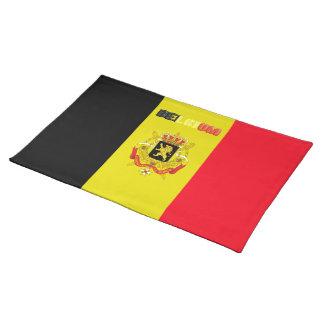 Belgian flag placemat