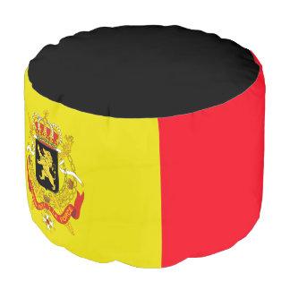 Belgian flag pouf