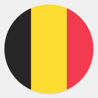 Belgian Flag sticker