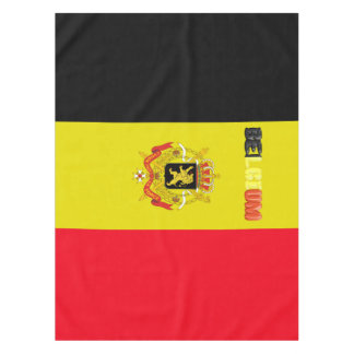Belgian flag tablecloth