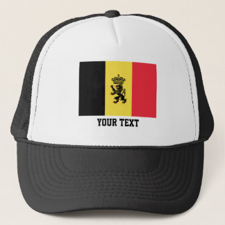 Belgian flag trucker hat