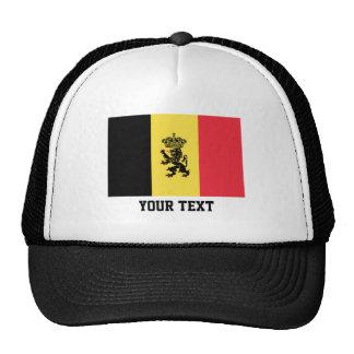 Belgian flag trucker hat