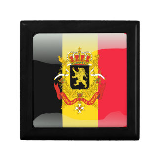 Belgian glossy flag jewelry boxes