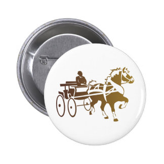 Belgian Horse Driving Button