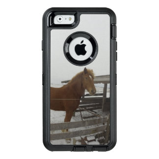 Belgian Horse OtterBox Defender iPhone Case
