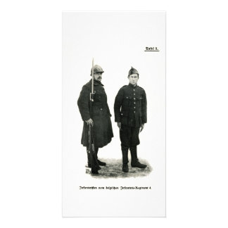 Belgian Infantry, World War I Photo Card
