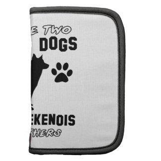 Belgian laekenois dog designs organizer