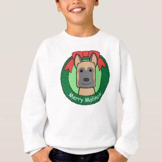 Belgian Malinois Christmas Sweatshirt