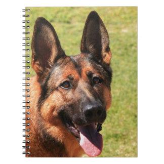 Belgian Malinois German Shepherd Notebooks