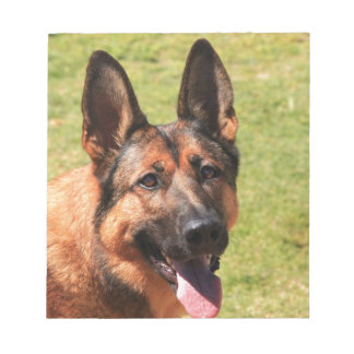 Belgian Malinois German Shepherd Notepad