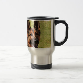 Belgian Malinois German Shepherd Travel Mug