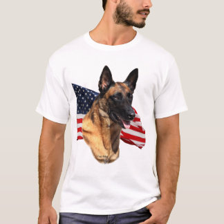 Belgian Malinois head t-shirt