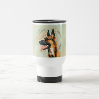 Belgian Malinois - Mechelaar  - Maligator Travel Mug