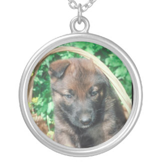 Belgian Malinois Puppy Necklace