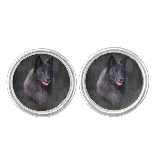 Belgian Sheepdog Cufflinks
