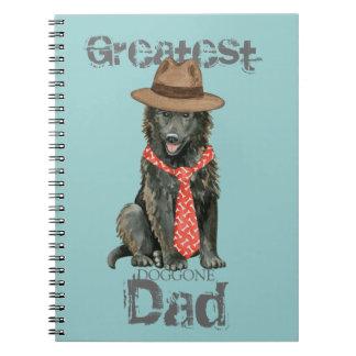 Belgian Sheepdog Dad Notebook