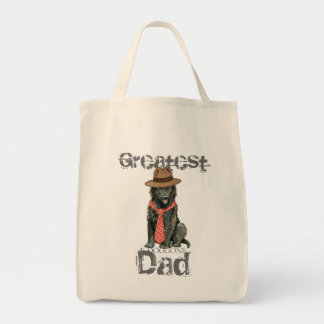 Belgian Sheepdog Dad Tote Bag