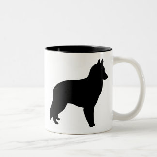 Belgian Sheepdog Gear Two-Tone Coffee Mug