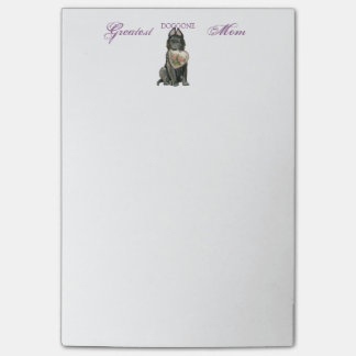 Belgian Sheepdog Heart Mom Post-it Notes