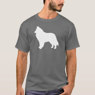 Belgian Sheepdog Silhouette T-Shirt