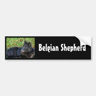 Belgian Shepherd bumper sticker