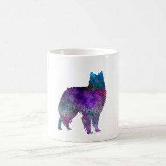 Belgian Shepherd Dog in watercolor Coffee Mug
