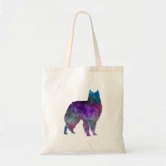 Belgian Shepherd Dog in watercolor Tote Bag