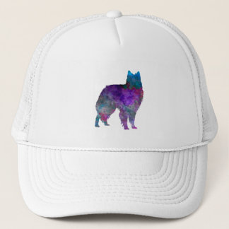 Belgian Shepherd Dog in watercolor Trucker Hat