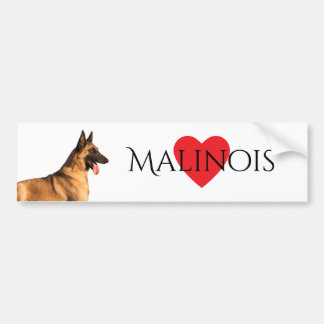 Belgian Shepherd Malinois Bumper Sticker