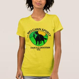 Belgian Spirit on Ladies Basic T-Shirt