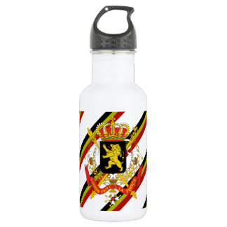 Belgian stripes flag 532 ml water bottle