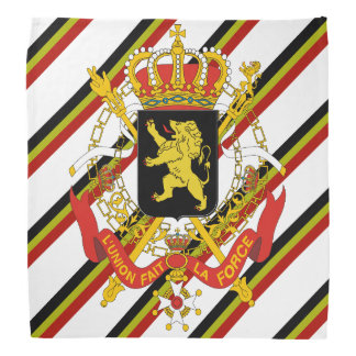 Belgian stripes flag bandana