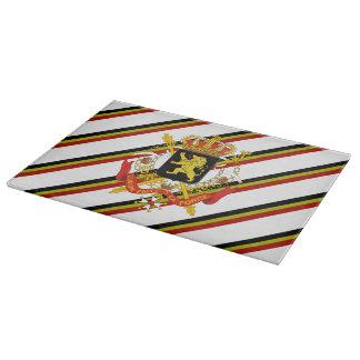 Belgian stripes flag boards
